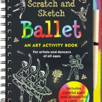 art, scratch, ballet, sketch, travel