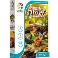 puzzle, smart games, logic, squirrels, travel game, presentplanners. gamescrusade, harrogate, skipton