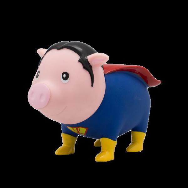 piggybank, superhero, moneybox, novelty, gift, harrogate, yorkshire, skipton
