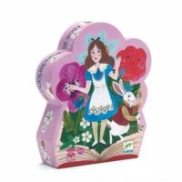 puzzle, jigsaw, fairytale, alice, creative, children