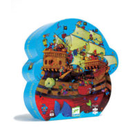 djeco, puzzle, jigsaw, creative, children, pirateship