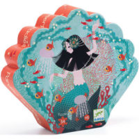 djeco, puzzle, mermaid, jigsaw, childrens, creative, collectable