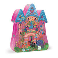 fairytale, puzzle, jigsaw, djeco, creative, castle, children