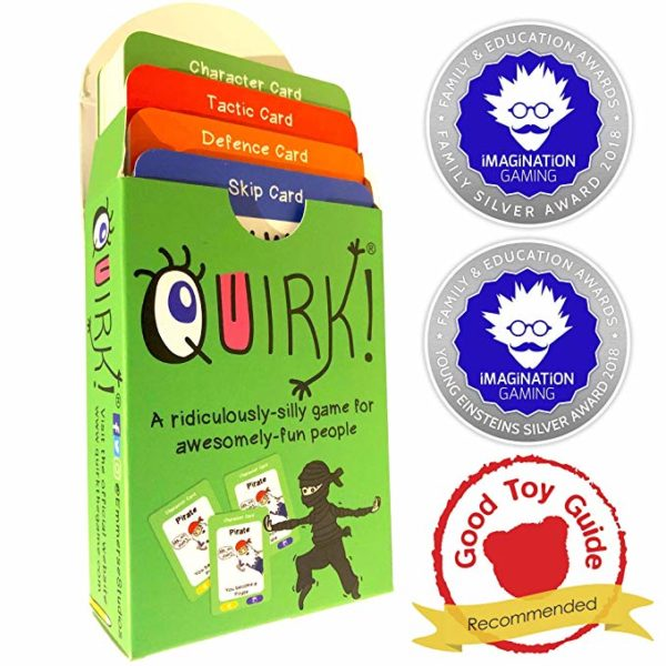 quirk, cardgame, awardwinning,fun, sounds,acting,travel,party,skipton,harrogate,yorkshire