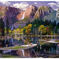 puzzle, jigsaw, wooden, wentworth, art, scenery, gift, mindfulness