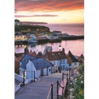 jigsaw, puzzle, art, wooden, whitby, mindfulness, gift