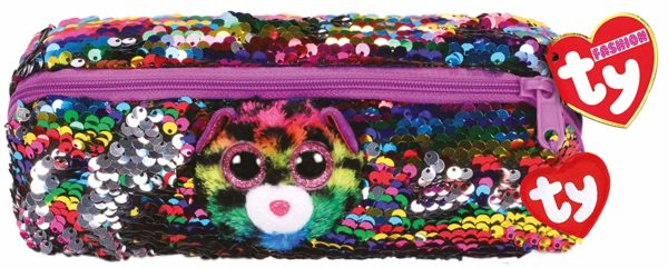 pencil case, back to school, ty, sequins, flippable