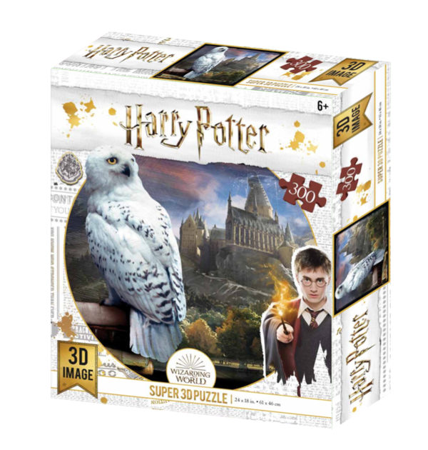 3dpuzzle, harry potter, jigsaw, hedwig, kidicraft,