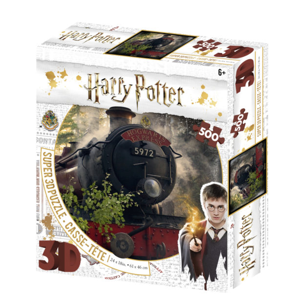 howarts, harry potter, jk rowling, 3d, puzzle, jigsaw,