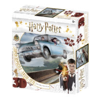 harry potter, 3d, puzzle, jigsaw, ford anglia, vintage car