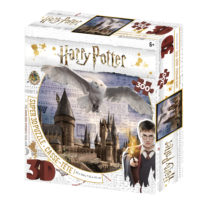 harry potter, hedwig, hogwarts, 3d, puzzle, jigsaw, jk rowling