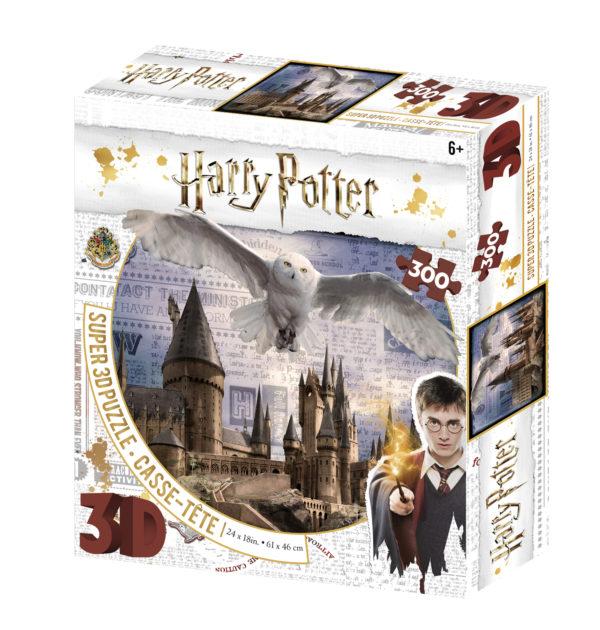 harry potter, hedwig, hogwarts, 3d, puzzle, jigsaw, jk rowling