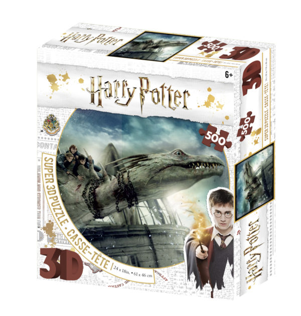 harry potter, dragon, 3d, puzzle, jigsaw, collector, jk rowling