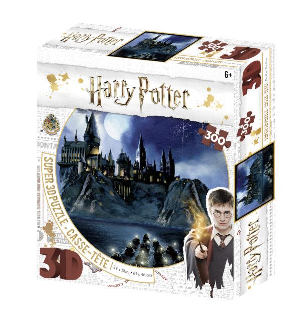 harry potter, 3d, jigsaw, puzzle, harrogate,