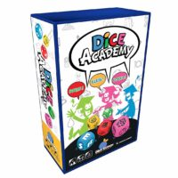 dice game, words, categories, fast, fun, travel sized