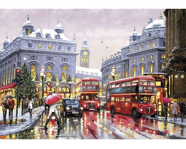 jigsaw, london, puzzle, wooden, christmas, winter, yorkshire