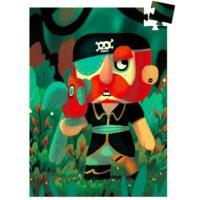 jigsaw, puzzle, djeco, pirate, pocket sized, stocking filler