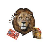 lion, jigsaw, puzzle, wallart