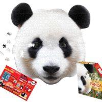 Panda, jigsaw, puzzle, wall art