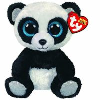 bamboo, panda, ty, collectible, plush, cuddly