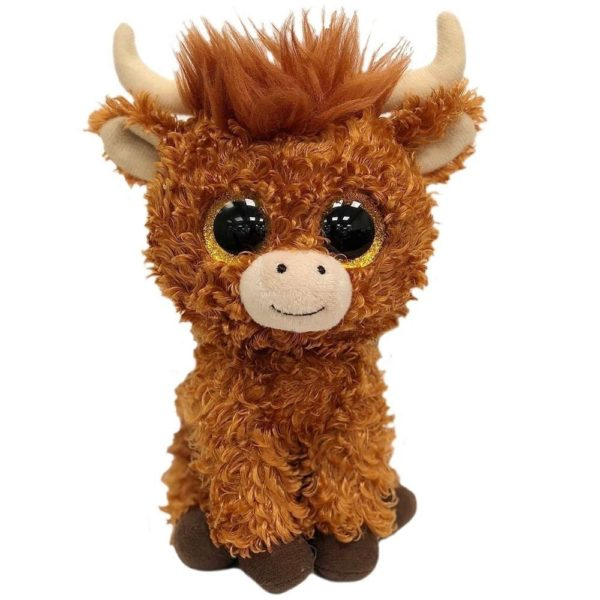 ty, highland cow, soft, plush, collectible
