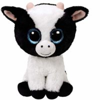 farm, plush, ty, cow, cuddly, collectible