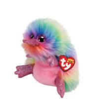 platypus, ty, beanie boo, pippa. rainbow