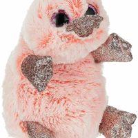 Platypus, Wilma, Ty, Beanie Boo, pink, glitter
