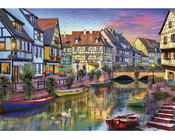wooden, puzzle, travel, jigsaw, harrogate, yorkshire, art