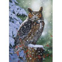 owls, winter, wooden, puzzle, jigsaw, harrogate, yorkshire, british