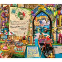 venice, jigsaw, puzzle, wooden, art, relaxing, gift, yorkshire