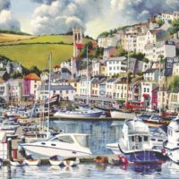 jigsaw, puzzle, seaside, relaxing, art
