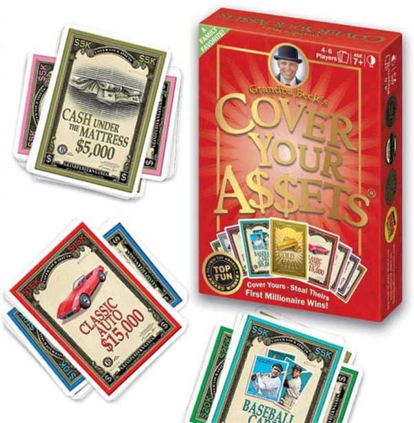 card game, money, win, grandpa becks