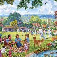 puzzle, gibsons, jigsaw, relaxing, yorkshire, art