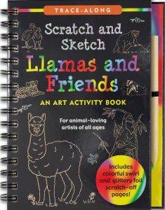 craft, art, creative, llama, travel book