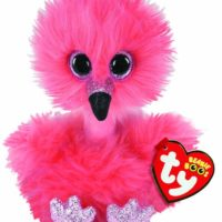 flamingo, plush, ty, collectable, soft