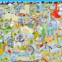 jigsaw, puzzle, art, city, capital, uk