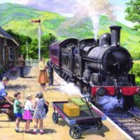 jigsaw, lakes, puzzle, trains, relaxing, yorkshire