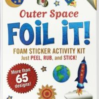 stickers, planets, aliens, easy, no mess