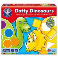 dinosaurs, counting, colours, shapes
