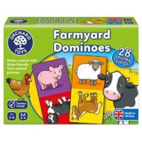 animals, farm, matching, counting, dominoes, game
