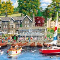 jigsaw, puzzle, lakes, summer, holidays, gift