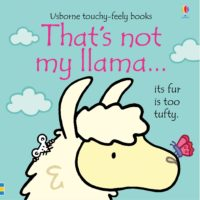 Meet five adorable llamas in this exciting addition to the much-loved That's not my... series. Babies and toddlers will love touching the textured patches as they meet llamas with tufty fur, shiny hooves and fuzzy noses. The bright pictures and textures to stroke are designed to help develop sensory and language awareness.