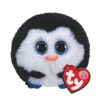 collectable, plush, ty, penguin, stackable, puffies