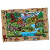jigsaw, puzzle, dinosaurs, prehistoric, logic, facts