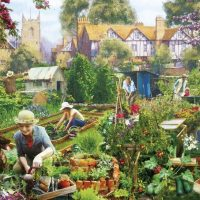 jigsaw, puzzle, gift, gardening, relaxing, therapy, british