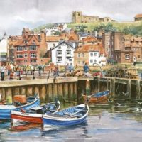 jigsaw, puzzle, relaxing, therapy, seaside, coast
