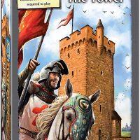 expansion, new tiles, carcassonne, castles, boardgame, flgs