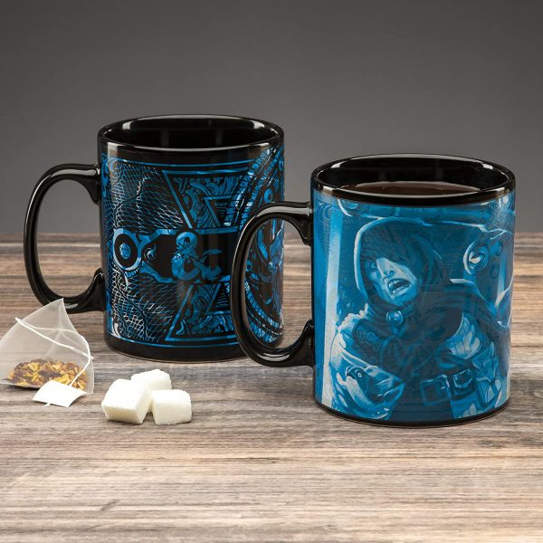 d&d, novelty gift, fathers day, mug, coffee