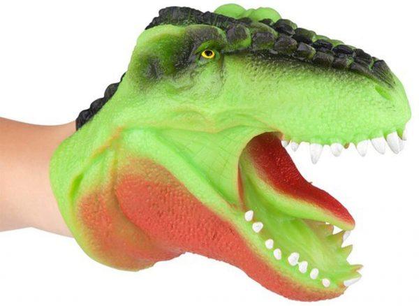 dinosaur, puppet, texture, sensory, tactile, roleplay, imagination